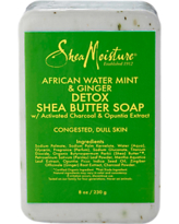 Bath & Body Activated Charcoal Niacinamide Soap With Shea Butter 4 Ounces Each