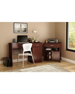 South Shore Axess Royal Cherry File Cabinet