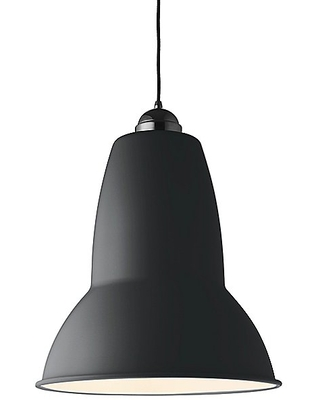Original 1227 Pendant Light by Anglepoise - Color: Multicolor - Finish: Jet Black - (32073)