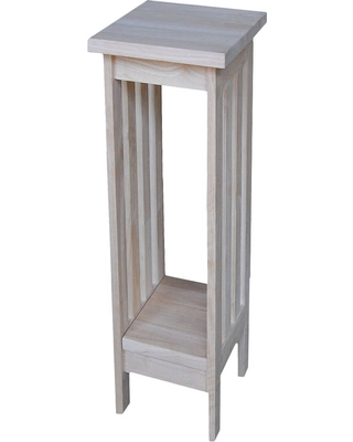 """Mission Plant Stand Unfinished 24"""" - International Concepts, Brown"""