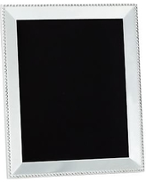 """Beaded Silver-Plated Picture Frame, 8 x 10"""""""