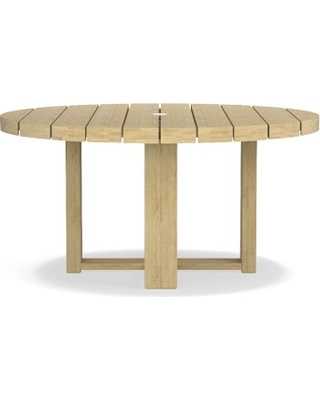 Fresh Fall Bargains On Larnaca Outdoor Round Dining Table Teak - 60 round conference table