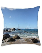 Amazing Deal On Ciccone Bvi Flag In Outline Map And Name British Virgin Islands Hand Towel Symple Stuff