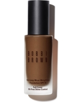 Bobbi Brown Skin Long-Wear Weightless Foundation Spf 15 - 7.5 Warm Walnut