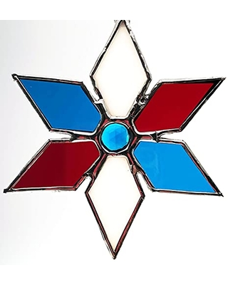 4th of July Colored Pinwheel