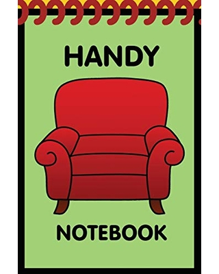Handy Notebook: Kids dandy little 6x9 inch notebook for drawing with 120 sheets