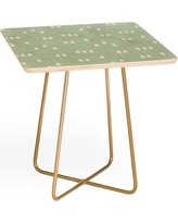 Deny Designs Little Arrow Design Evergreen Side Table, Size One Size - Green