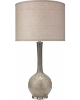 Jamie Young Florence Taupe Glass Table Lamp