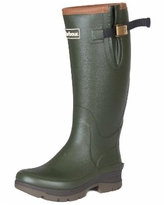 Barbour Women's Tempest Tall Rain Boots - Olive