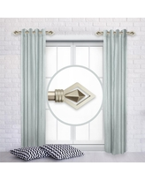 Check Out Deals On Rod Desyne Maple 12 In 20 In L Adjustable 1 In Dia Single Side Window Curtain Rod In Light Gold Set Of 2