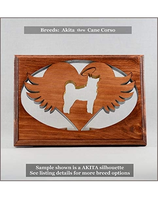 Dog Memorial Tea Light • Breeds AKITA thru CANE CORSO ○Personalized○Pet Loss○Sympathy○Remembrance○Candle Holder