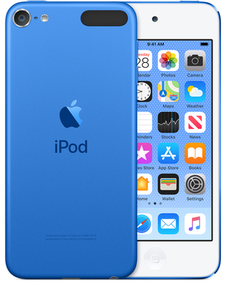 iPod touch (Latest, 7th Gen) 32GB - Blue - Apple