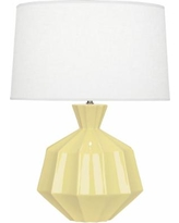 Robert Abbey Orion Butter Ceramic Table Lamp