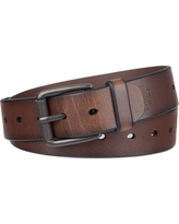Denizen from Levi's Men's Non-Reversible Single Laser Cut Belt - Brown, Size: XL