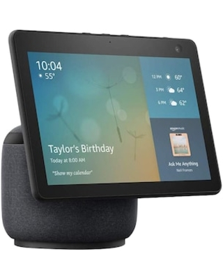 Amazon Echo Show 10 3rd Generation Smart Display with Motion, Charcoal (53-023019) | Quill
