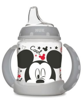 NUK® 5 oz. Mickey Mouse Learner Cup in Grey