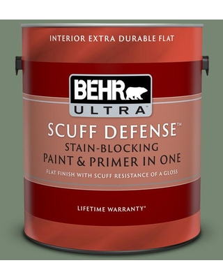 Shop Deals On Behr Ultra 1 Gal 440f 5 Winter Hedge Extra Durable Flat Interior Paint Primer