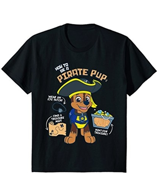 Kids PAW Patrol How To Be A Pirate Pup T-Shirt