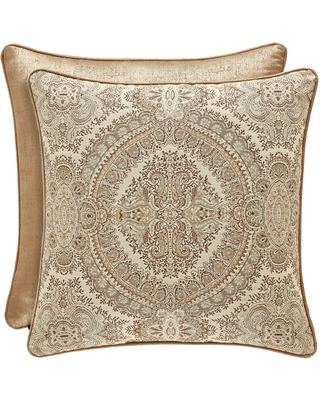 Gracewood Hollow Malonga 20-inch Square Throw Pillow (Gold)