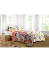 Greenland Home 3-Piece Watercolor Dream Quilt Set, King, Multi