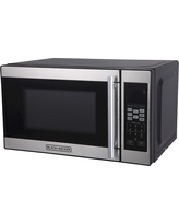 Black+decker 0.7cu. ft. 700 Watt Microwave Oven Black EM720CPN-P