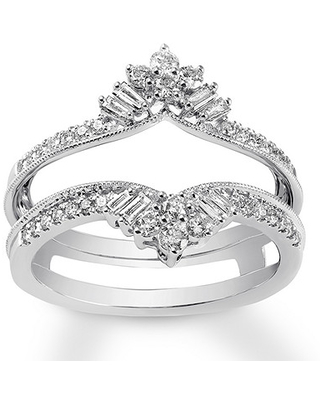 Spring Shopping Special Diamond Enhancer Ring 1 2 Ct Tw Round