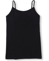 Girls Basic Sleeveless Cami Top - Black - The Children's Place