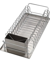 Dish Drainer 3-pc. Set, Silver
