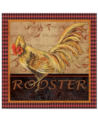 Trademark Fine Art 'Ruler Of The Roost Series 2' Canvas Art by Jean Plout