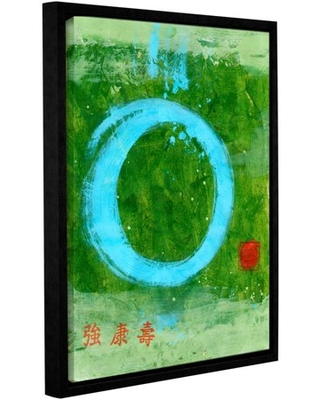 """ArtWall Elena Ray """"Strong Tao"""" Gallery-Wrapped Floater-Framed Canvas"""