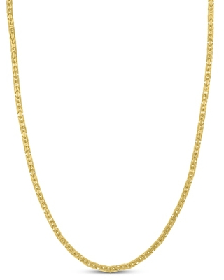 Jared The Galleria Of Jewelry Byzantine Chain Necklace 14K Yellow Gold