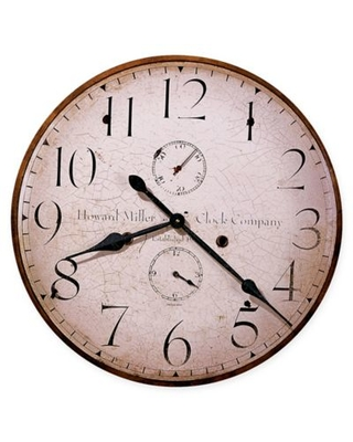 Howard Miller® Moment in Time Wall Clock in Wood
