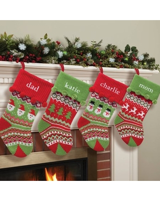 Personalized Christmas Stocking, 4 Styles to Choose From