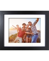 """Wide Gallery Matted Frame Black 11""""x14"""" - Made By Design"""
