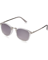 A.J. Morgan Castro Round Sunglasses, Crystal, 48 mm