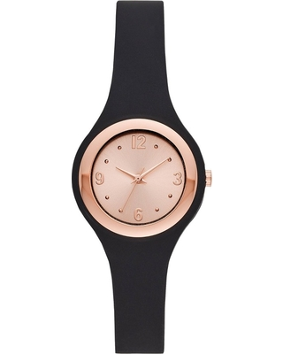805e909b6 Amazing Deal on Women's Rubber Unibody Strap Watch - A New Day Rose ...