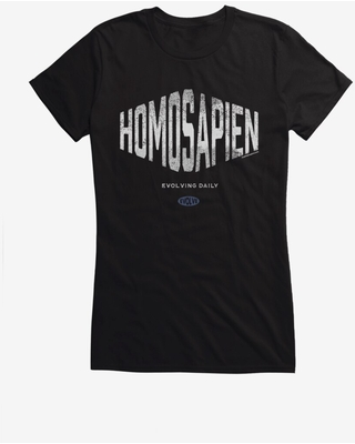 Lunch Hour Productions Homosapien Girls T-Shirt