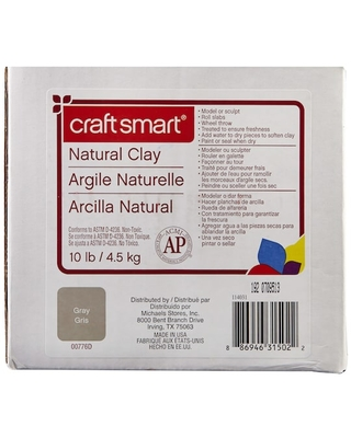 Craft Smart® Natural Clay in Gray   10 lb   Michaels®