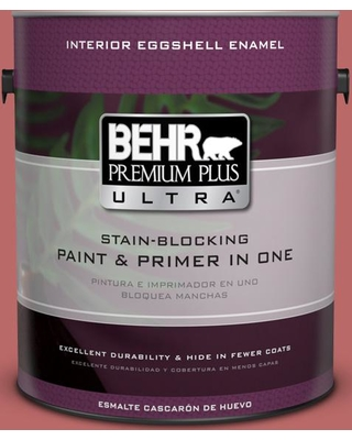BEHR ULTRA 1 gal. #MQ1-11 Drama Queen Eggshell Enamel Interior Paint and Primer in One