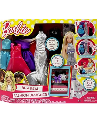 Big Deal On Barbie Be A Fashion Designer Doll Dress Up Kit