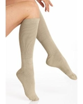 Women's Circulator Socks by Haband, Tan Size Queen