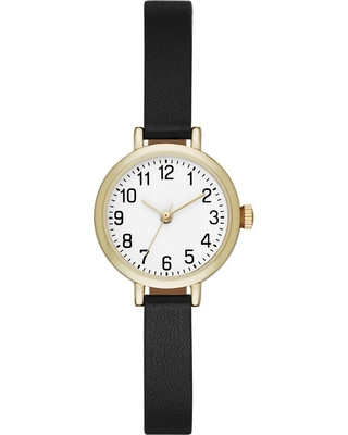 Women's Value Full Arabic Strap Watch - A New Day Gold, Size: Small
