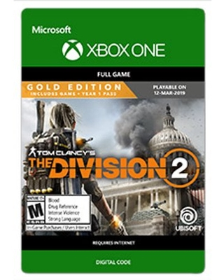 Tom Clancy's The Division 2 - GOLD EDITION, Ubisoft, Xbox One [Digital Download]