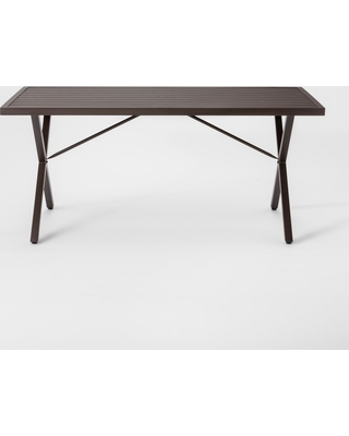 Terrific Threshold Monroe 6 Person Patio Dining Table Brown Threshold From Target People Gmtry Best Dining Table And Chair Ideas Images Gmtryco