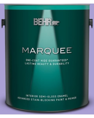 BEHR MARQUEE 1 gal. #P560-4 Magic Wand Semi-Gloss Enamel Interior Paint and Primer in One