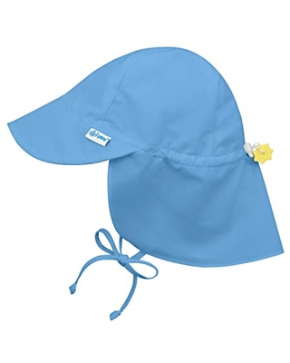 i play. by green sprouts baby girls Sun Hat, Light Blue, 0-6 Months US