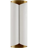 Visual Comfort and Co. Aerin Selfoss 8 Inch Wall Sconce - ARN 2037PW/G