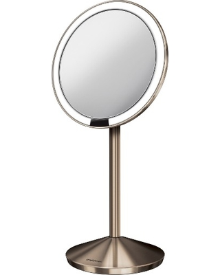 Simplehuman Mini Countertop Sensor Makeup Mirror, Size One Size - Silver