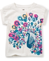 Tea Collection India Peacock Graphic Tee