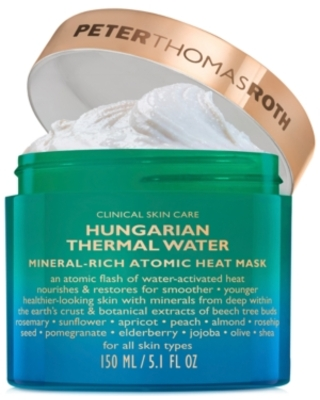 Peter Thomas Roth Hungarian Thermal Water Mineral-Rich Atomic Heat Mask, 5 oz.